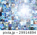 ビッグデータ 情報 ハイテクのイラスト 29914894