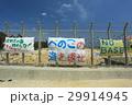 沖縄 名護市辺野古の国境フェンス キャンプシュワブ【2017年4月撮影】 29914945