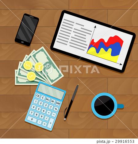 Finance process planning budgetのイラスト素材 [29916553] - PIXTA