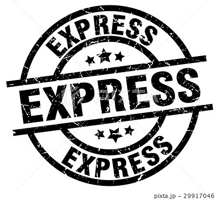 express round grunge black stamp 29917046