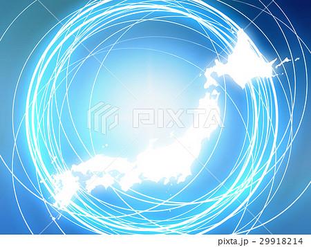 ネットワーク素材 29918214