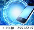 ネットワーク スマートフォン テクノロジーのイラスト 29918215