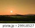 美瑛 日の出 風景の写真 29918527