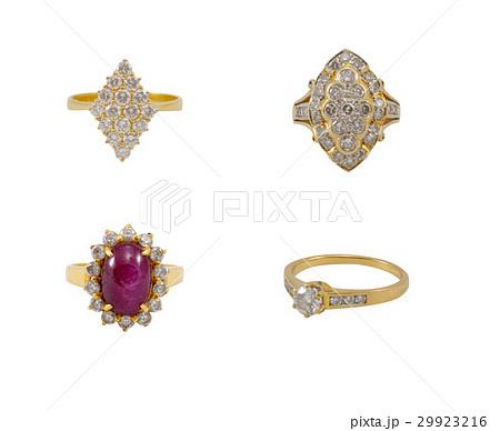 Collection ringの写真素材 [29923216] - PIXTA