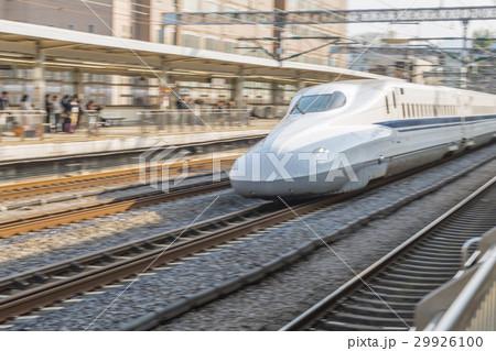 東海道新幹線 小田原駅 流し撮り 29926100