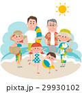 家族で海辺のバカンス 29930102