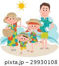 家族 旅行 バカンスのイラスト 29930108