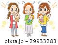 赤ちゃん お母さん グループのイラスト 29933283
