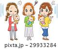 赤ちゃん お母さん グループのイラスト 29933284