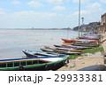 バラナシ 船 川の写真 29933381