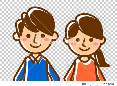 夫婦微笑的臉 29933848