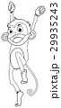 動物 さる サルのイラスト 29935243