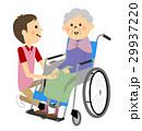 車椅子に座る高齢者 介護 29937220