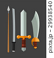 Knife weapon dangerous metallic vector 29938540