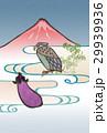 富士 鷹 茄子のイラスト 29939936