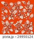 植物 花 花柄のイラスト 29950124