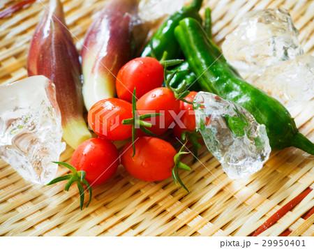 夏野菜のザル盛り1 29950401