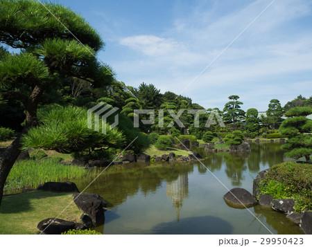 日本庭園の池 29950423