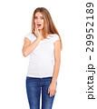 シャツ Yシャツ ホワイトの写真 29952189