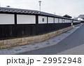 白壁 街並み 柳井川の写真 29952948