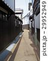 白壁 街並み 柳井川の写真 29952949