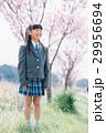 笑顔 女の子 入学の写真 29956694