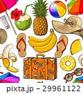 夏 ビーチ シームレスのイラスト 29961122