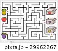 Maze game: Pick fruits box - worksheet 29962267