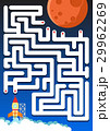 Maze game: Help rocket find the way to mars 29962269