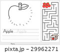 Connect dots and Pick apple box maze game 29962271