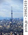 東京スカイツリーと西新宿のビル群、東京の街並み 29962459