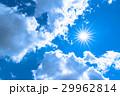 空 青空 雲の写真 29962814
