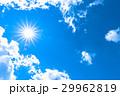 空 青空 雲の写真 29962819