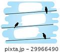 鳥 配線 針金のイラスト 29966490