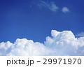 入道雲(夏イメージ) 29971970