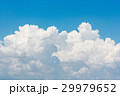 Nature white cloud on blue sky background 29979652