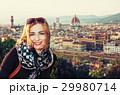 フィレンチェ フィレンツェ 女の写真 29980714