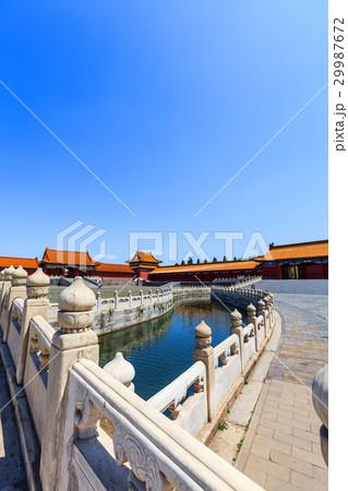 Bridge over inner Golden River in Forbidden City 29987672