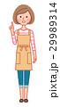 指差しをする女性 29989314