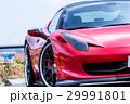 真っ赤なスポーツカー 29991801