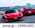 真っ赤なスポーツカー 29991803