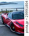真っ赤なスポーツカー 29991804