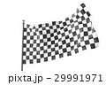 Checkered Flags. Racing flag, 3d rendering 29991971