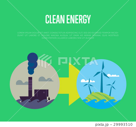 Evolution from industrial pollution to eco energy 29993510