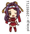 ミニスカ忍者ガール_B_小豆 29993711