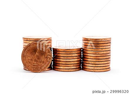 Saving money and account finance concept isolatedの写真素材 [29996320] - PIXTA
