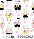 ねこ ネコ 猫のイラスト 29999202