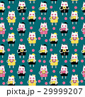 ねこ ネコ 猫のイラスト 29999207