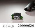 防犯カメラでホームセキュリティー 夜間イメージ 29999629
