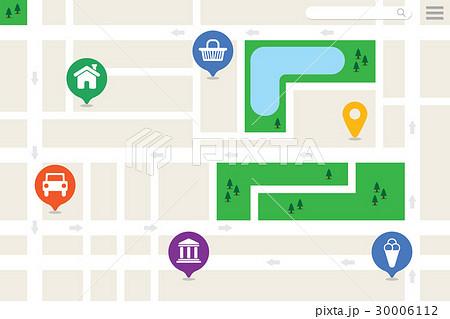 Imaginary City Map 30006112